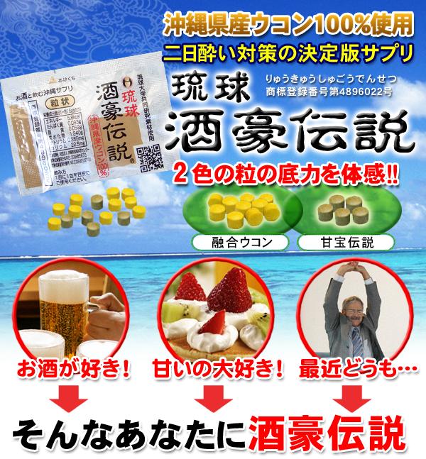 沖縄県産ウコン100%使用